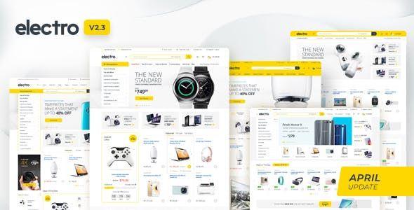 Electro v2.3.1 - Electronics Store WooCommerce Theme