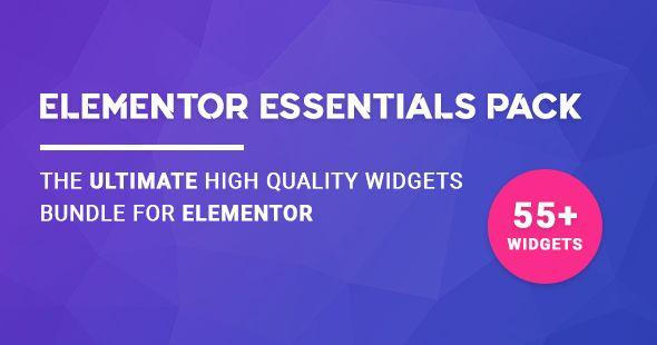 Elementor Essentials Pack v2.10.0 - Ultimate Widgets Bundle