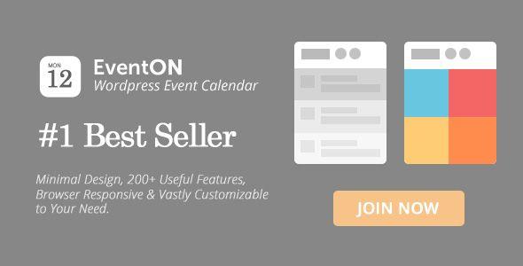 EventOn v2.6.7 - WordPress Event Calendar Plugin