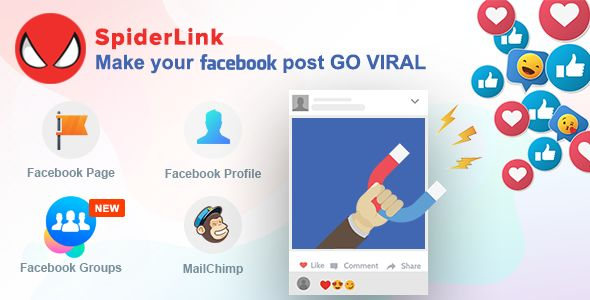 Facebook SpiderLink v2.1 - Make Your Facebook Post GO VIRAL