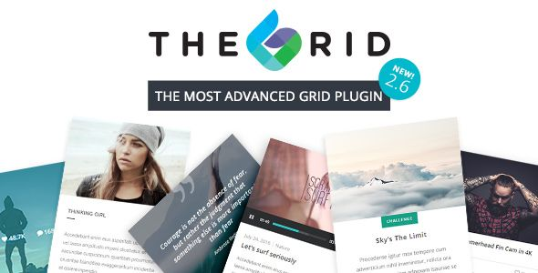 The Grid v2.6.1 - Responsive WordPress Grid Plugin
