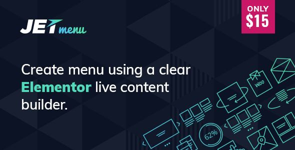 JetMenu v1.4.3 - Mega Menu For Elementor Page Builder