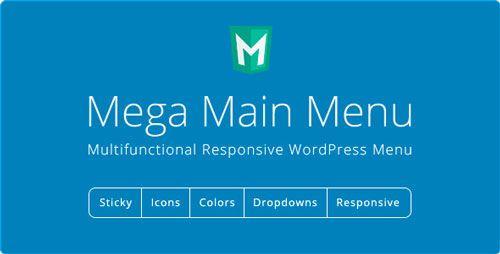 Mega Main Menu v2.1.7 - WordPress Menu Plugin