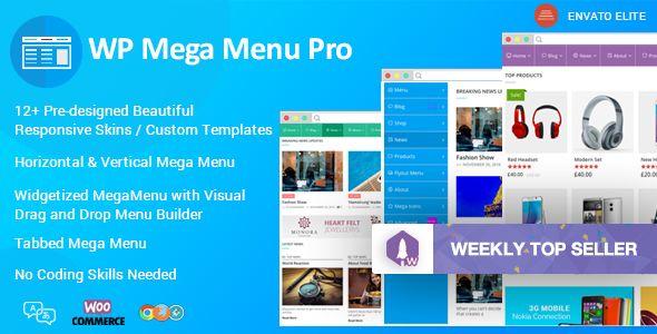 WP Mega Menu Pro v1.0.8 - Responsive Mega Menu Plugin