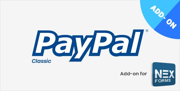 PayPal For NEX-Forms v7.2