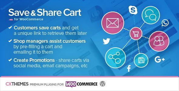 Save & Share Cart For WooCommerce v2.19