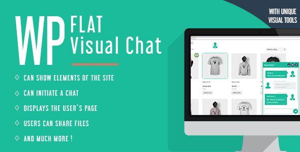 WP Flat Visual Chat v5.376