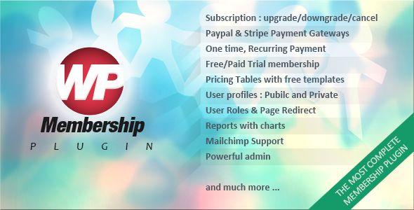 WP Membership v1.3.9