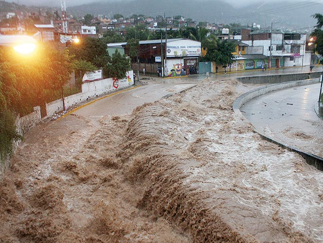 68 ciclones  azotaron al país entre  2012 y 2013, mientras de 1970 a 2011 fueron 186.