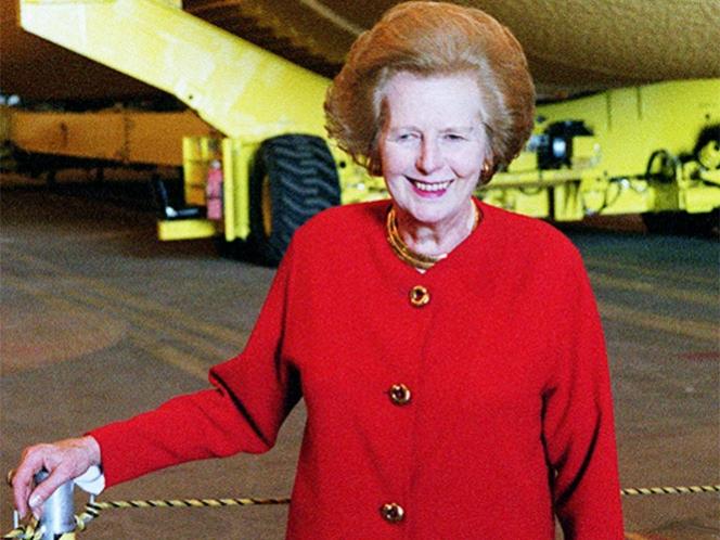Fallece la ex primera ministra británica Margaret Thatcher