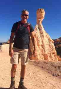 Gene in Bryce Canyon