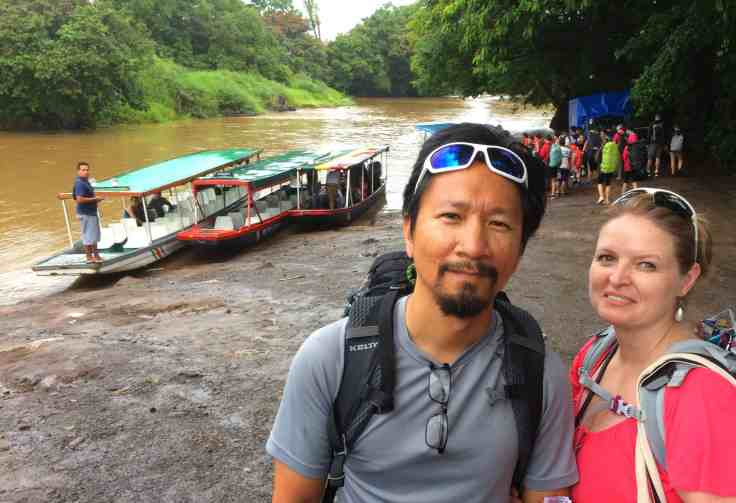 Boat ride to Tortuguero