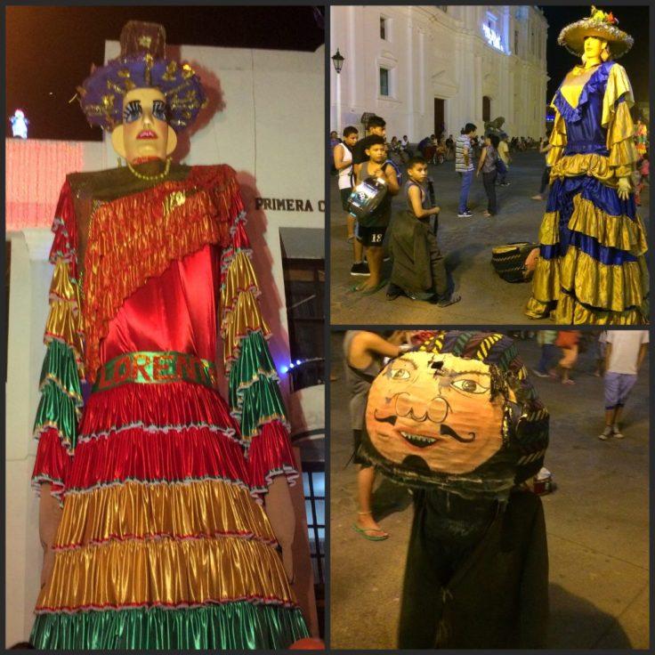 Gigantonas in Leon Nicaragua
