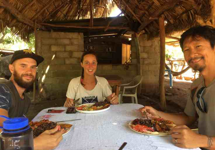 Lunch on Ometepe