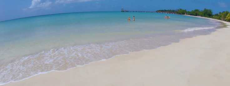 beach on Big Corn Island