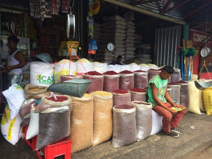 market in Matagalpa