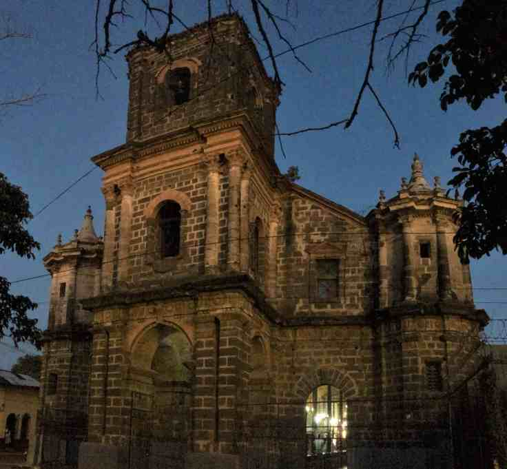 Gothic Cathedral in Leon Nicaragua