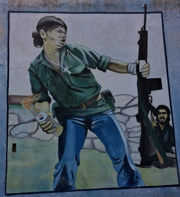 Murial on a wall in Somoto