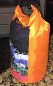 Dry sack when Packing for two years