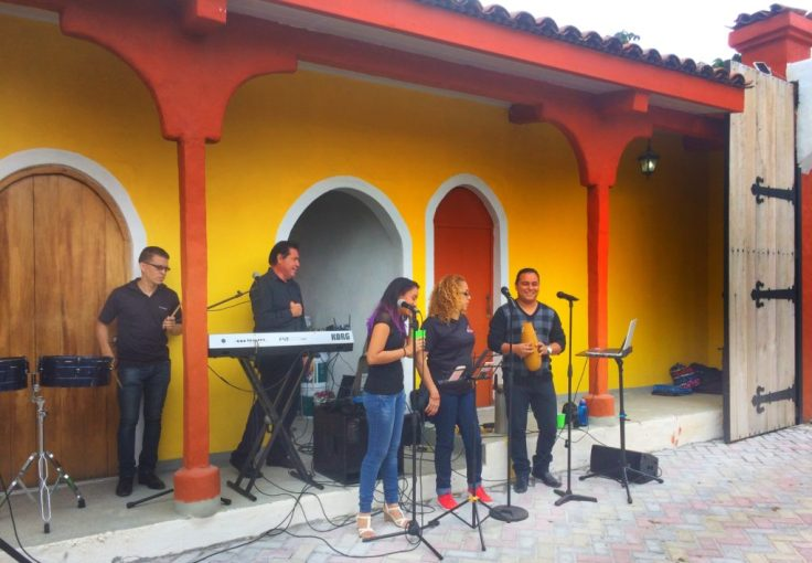 Live band for the Cabalgata