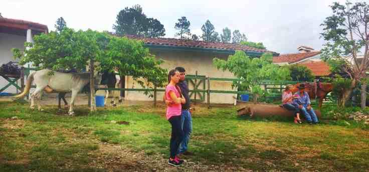 Couples at the Cabalgata