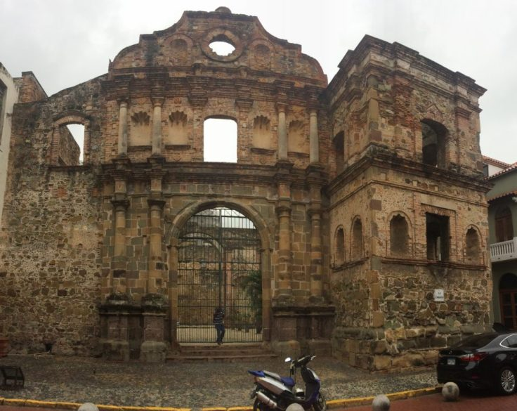 old building in Panama