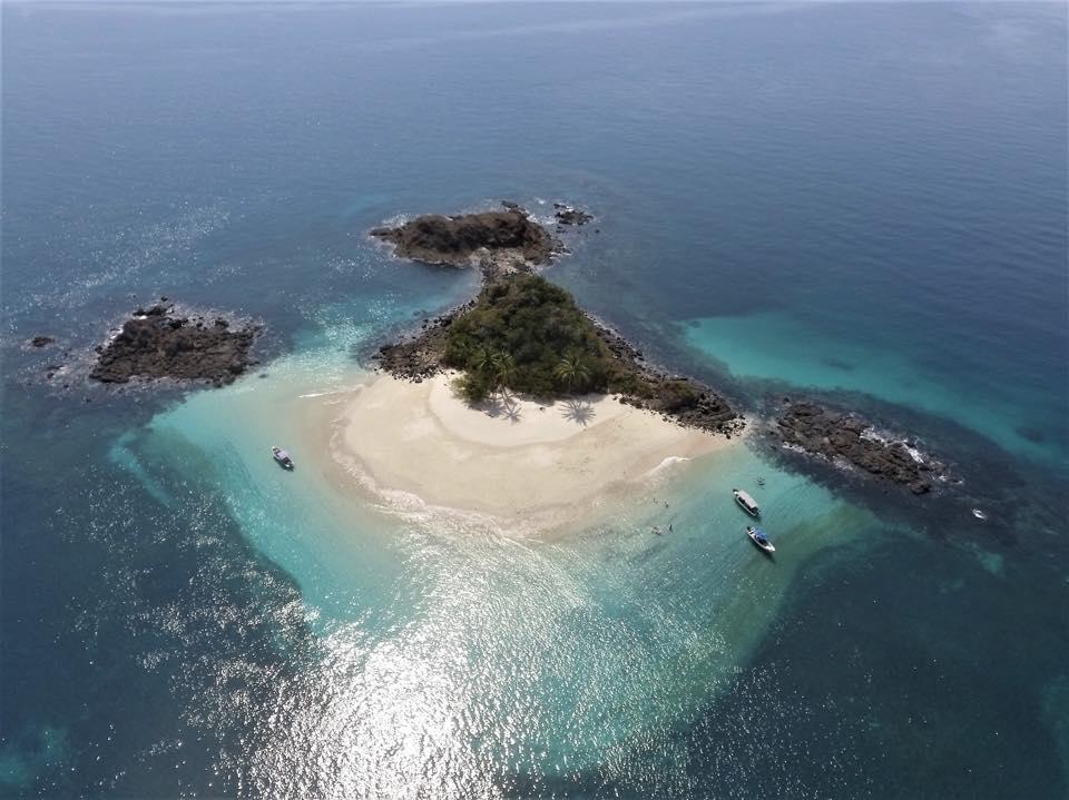 small island in Coiba