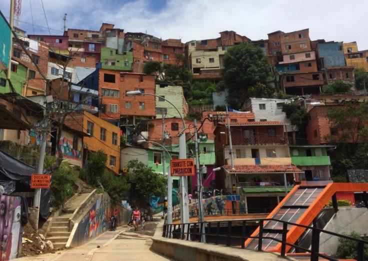 homes in Comuna 13