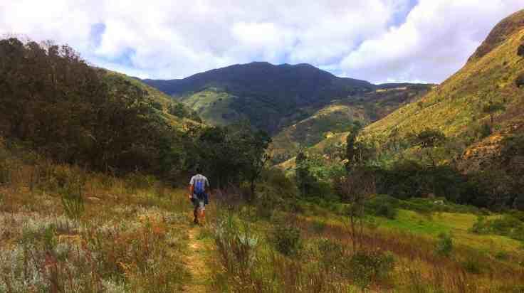 Trail in Villa de Leyva