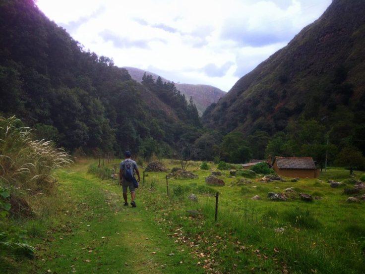 Valley near Villa de Leyva