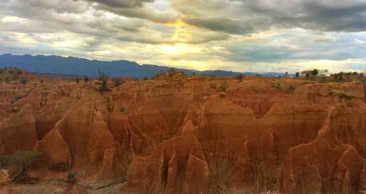Sunset in Tatacoa Desert Must see Colombia