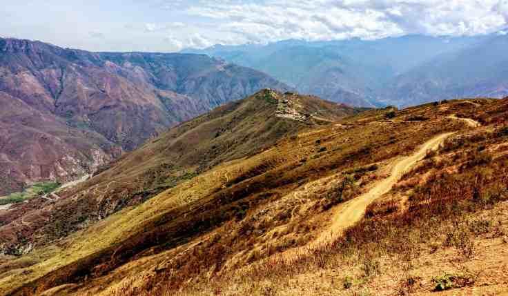Chicamocha Canyon near San Gil