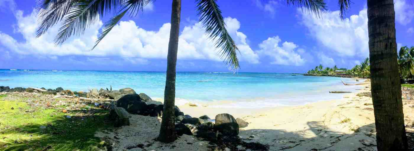 Blue beach on Corn Island