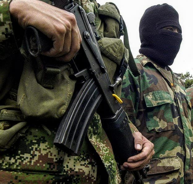 Guerrillas in Colombia