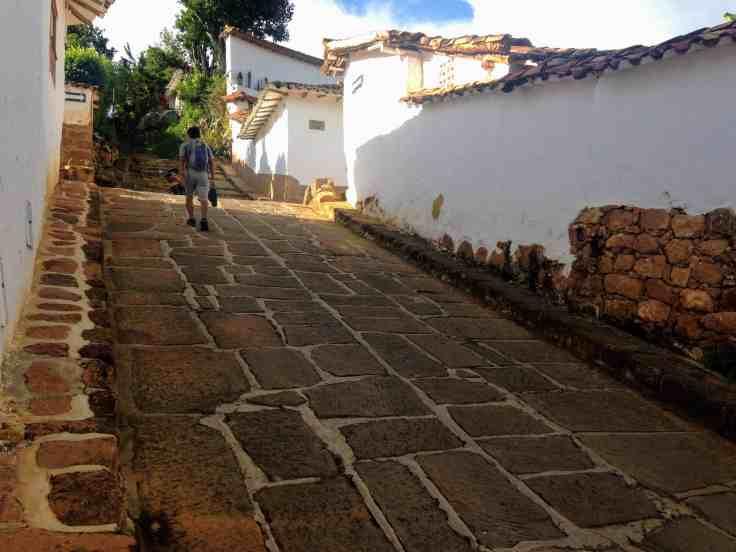 steep road