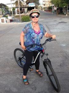 Bike on San Cristobal