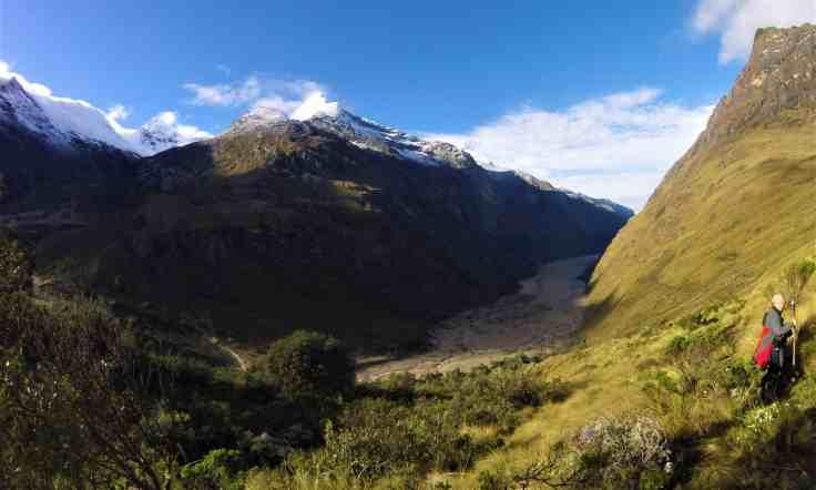 Artesonraju Mountain on the Santa Cruz Trek