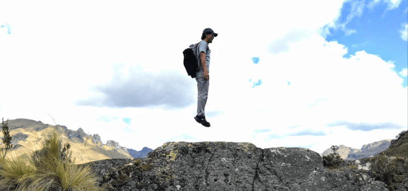 Hovering over Cajas Park