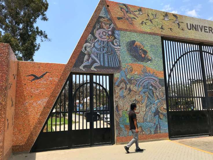 Entrance into the University in Peru