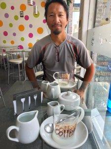 Coffee shop in Peru