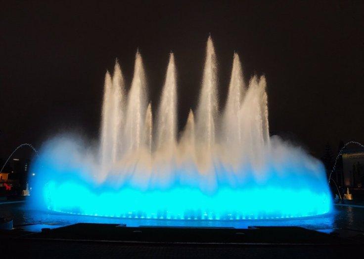 Magic Fountain in Circuito Mágico del Agua Christmas in Lima Peru