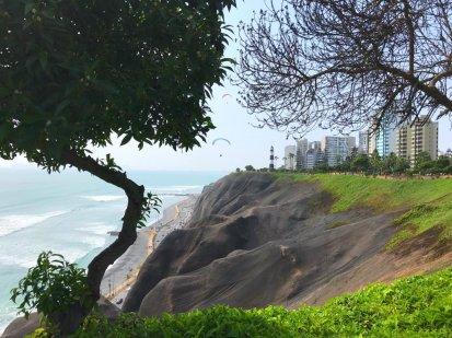 The coast in Lima Peru