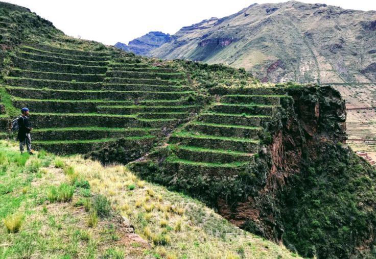 Inca ruins in Pisac