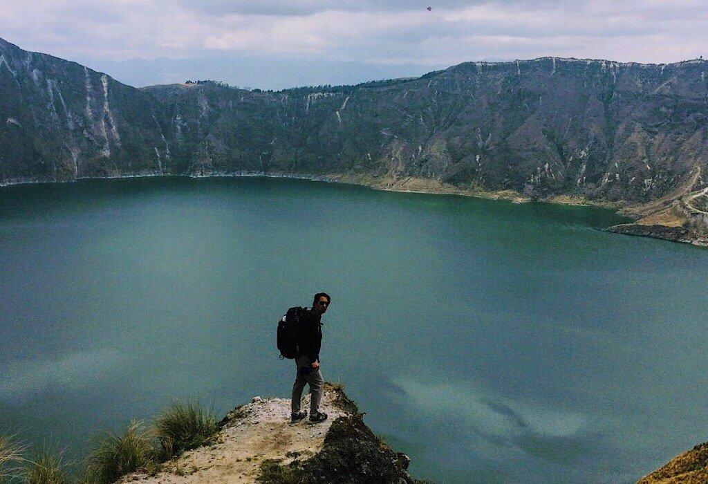 Quilotoa Crater
