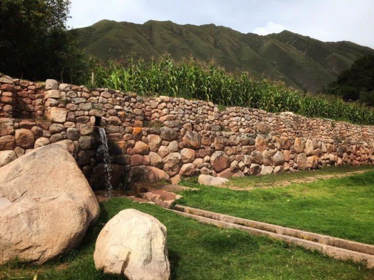 Water channel in Urubamba