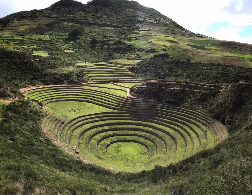 Circle terrace of Moray in the Sacred Valley