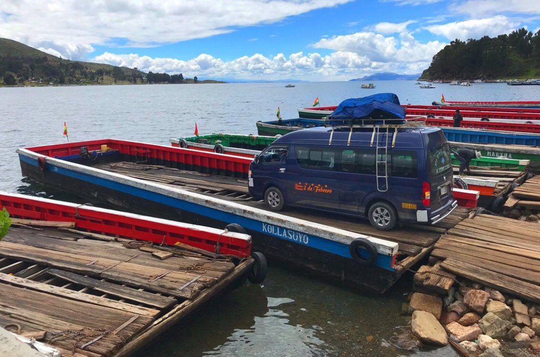 Ferry on Lake Titicaca