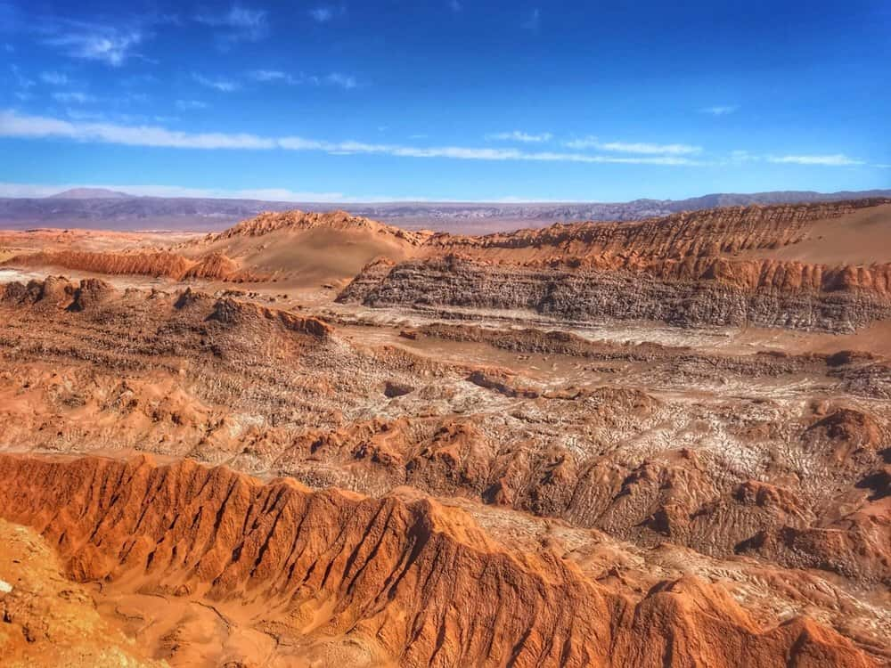 Moon Valley in the Atacama