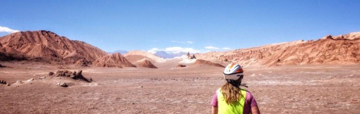 Moon Valley in the Atacama on bicycles