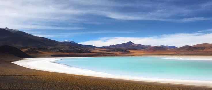 LAGUNA TUYAJTO of the Atacama